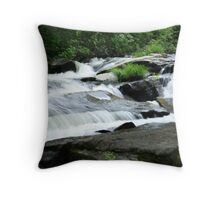 River's Waterfall Throw Pillow