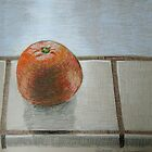"""The lone orange"" by Richard Robinson"