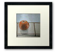 """The lone orange"" Framed Print"
