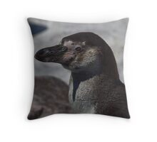 Penguin Portrait Throw Pillow