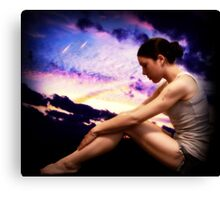 I Could Really Use a Wish Right Now Canvas Print