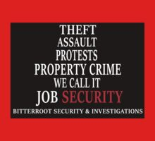 What We Call It - Security Baby Tee