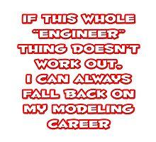 Funny Engineer ... Modeling Career by TKUP22