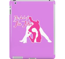 The Art of Jiu Jitsu Rear Triangle Choke Pink  iPad Case/Skin