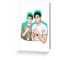 Best Buds! Greeting Card
