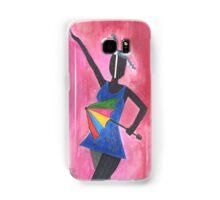 Frevo girl with colorful umbrella Samsung Galaxy Case/Skin