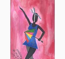 Frevo girl with colorful umbrella Unisex T-Shirt