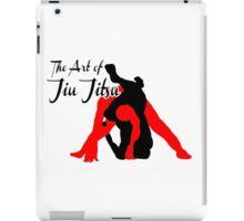 The Art of Jiu Jitsu Rear Triangle Choke  iPad Case/Skin