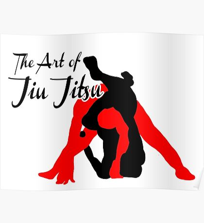 The Art of Jiu Jitsu Rear Triangle Choke  Poster