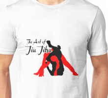 The Art of Jiu Jitsu Rear Triangle Choke  Unisex T-Shirt