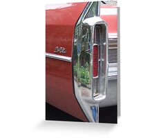 Old Caddy Greeting Card
