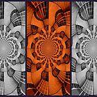 Guitar Collage by Debbie Robbins