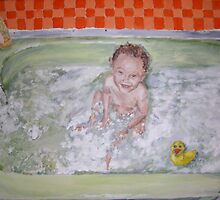 Bath Time Fun (Mikey my nephew) by Jennifer Ingram
