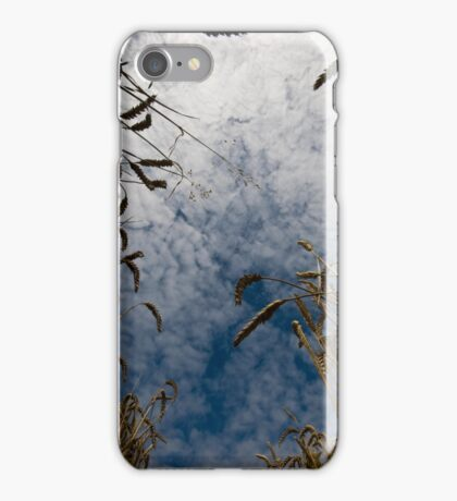 A summer's day in the countryside iPhone Case/Skin