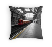 Notting Hill Gate Station Throw Pillow