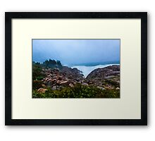 Stormy Day Cape Breton Framed Print