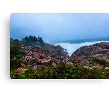 Stormy Day Cape Breton Canvas Print