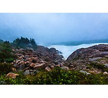 Stormy Day Cape Breton Photographic Print