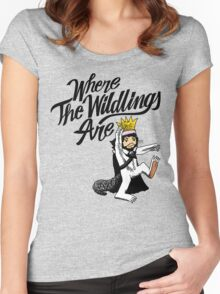 Where The Wildlings Are Women's Fitted Scoop T-Shirt