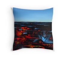 Lava Field Throw Pillow