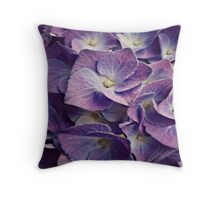 Flower purple objects Throw Pillow