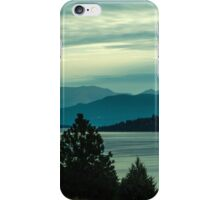 Morning at Big Arm Bay iPhone Case/Skin