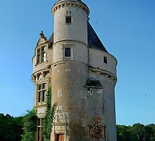 The Marques Tower, Chenonceaux, France by Lanis Rossi