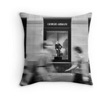 Watching and Waiting Throw Pillow