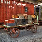 Railway Baggage Cart by Brendon Perkins