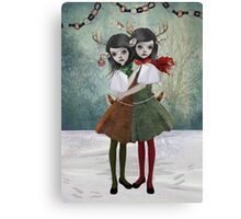 Holly & Ivy Canvas Print