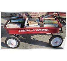 Key West Book Wagon Poster