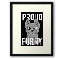 Proud Furry Framed Print