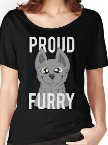 Proud Furry Women's Relaxed Fit T-Shirt