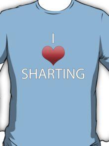 I Heart Sharting T-Shirt
