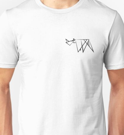 Abstract Rhino Unisex T-Shirt