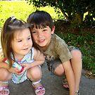 My Two Precious Grandchildren by Wanda Raines