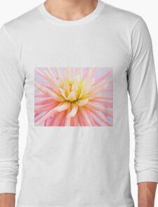 A summer Dahlia flower Long Sleeve T-Shirt