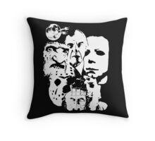 Horror Icons! Throw Pillow