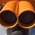 Hot Orange Blower-Close Up by Khrome Photography