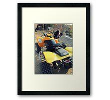 Honda 400ex Framed Print