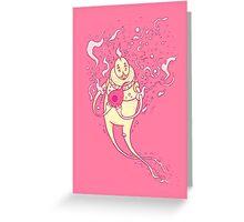 blood mage Greeting Card