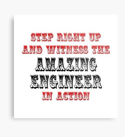 Amazing Engineer In Action Metal Print