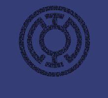 Blue Lantern Oath (Black) Unisex T-Shirt