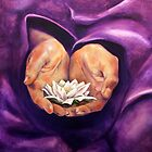 Peace is in your hands by Cheryl White