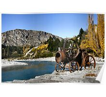 Shotover River Near Queenstown Poster