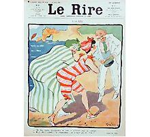 Jules Alexandre Grün Rire Beach Photographic Print