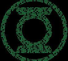 Green Lantern Oath by DarkBlueOwl