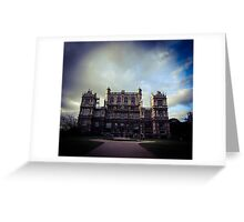 Wayne Manor/Wollaton Hall Greeting Card