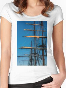 Setting Through The Masts Women's Fitted Scoop T-Shirt