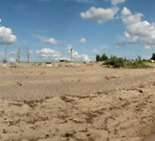 Summer day - Toppila, Oulu, Finland by Nnebr